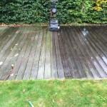 houten terras reinigen